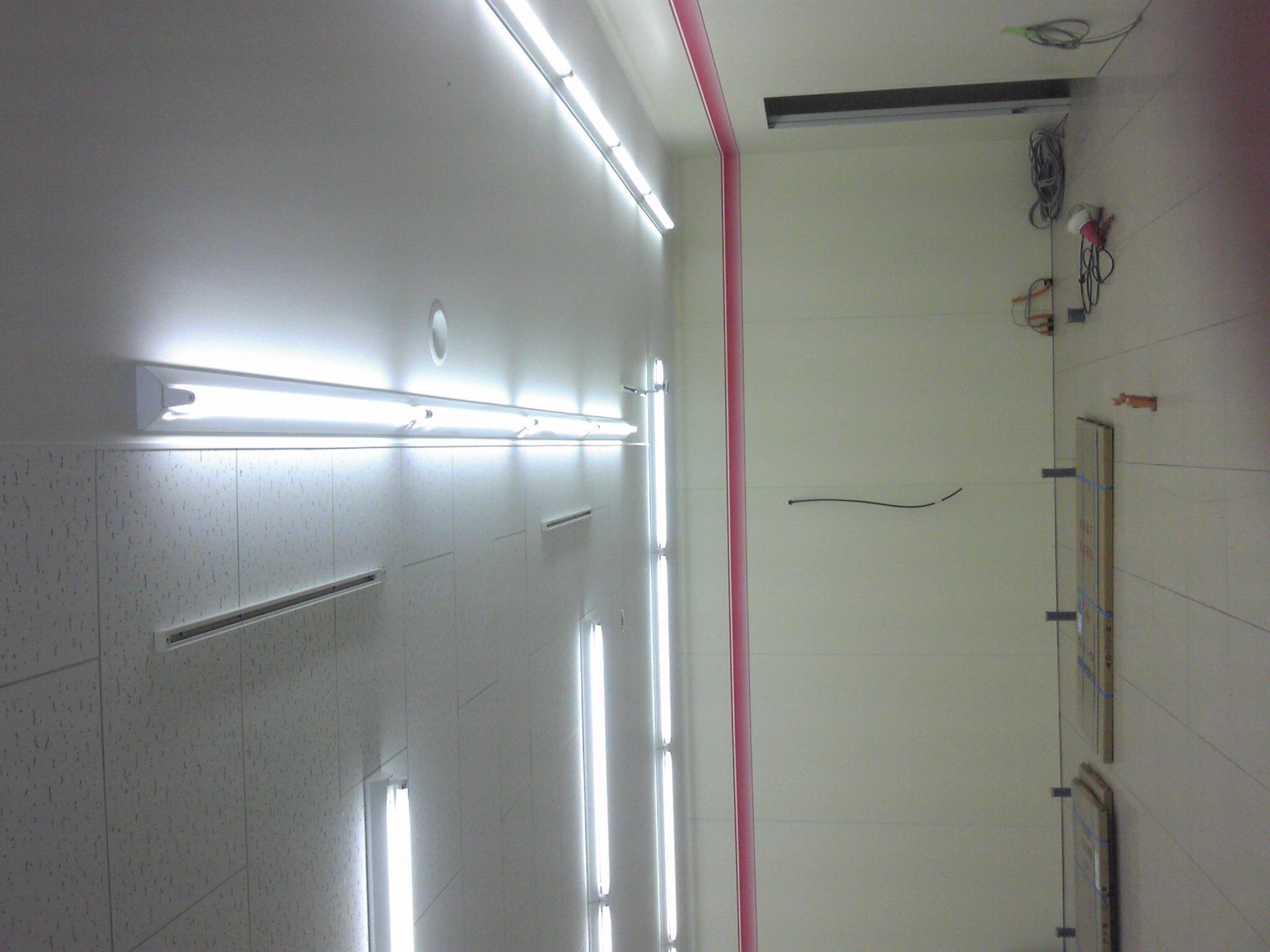照明器具取付工事
